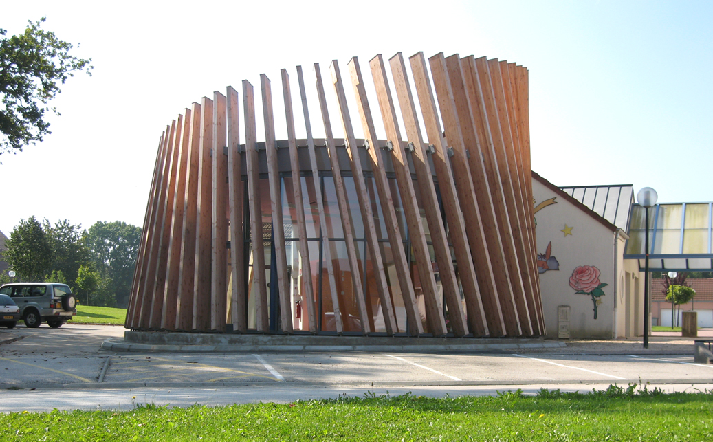 construction garderie mervans